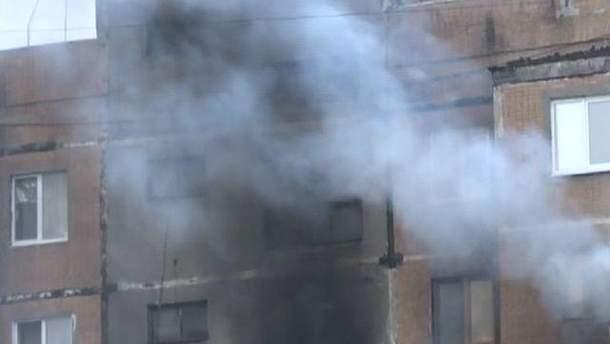 Пожежа у Макіївці