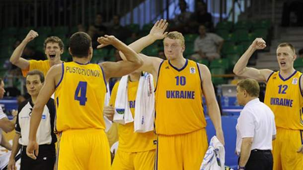 Украинские баскетболисты