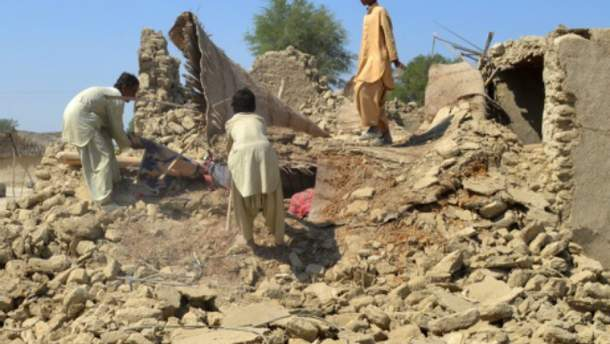 Наслідки землетрусу у Пакистані