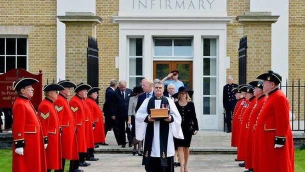 Церемонія поховання праху Тетчер