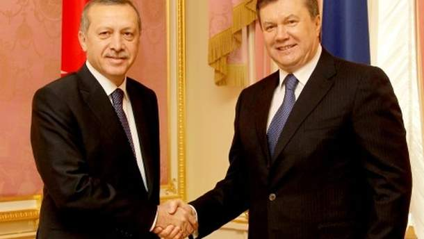 Віктор Янукович та Реджеп Тайїп Ердоган