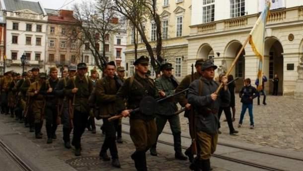 У Львові пройшов Марш слави на честь УПА
