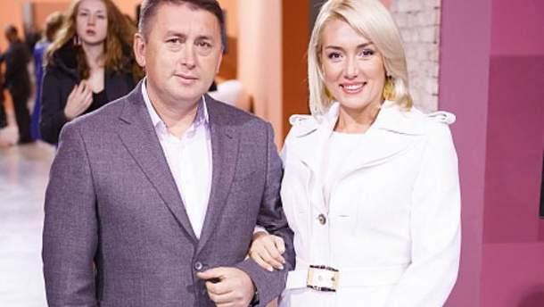 Наталья Розинская с мужем Николаем Мельниченко