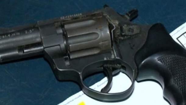 Пістолет затриманого