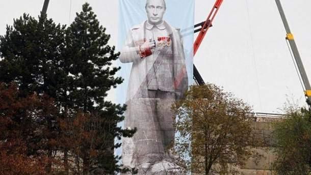 Плакат Путина