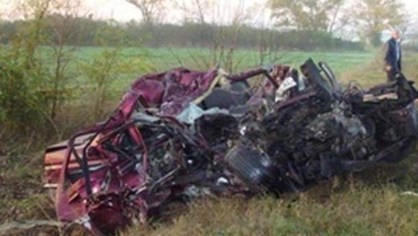 Авария на трассе Одесса-Рени