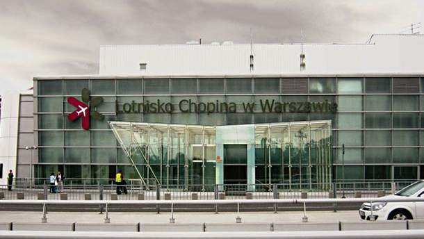 Аэропорт Шопена  в Варшаве