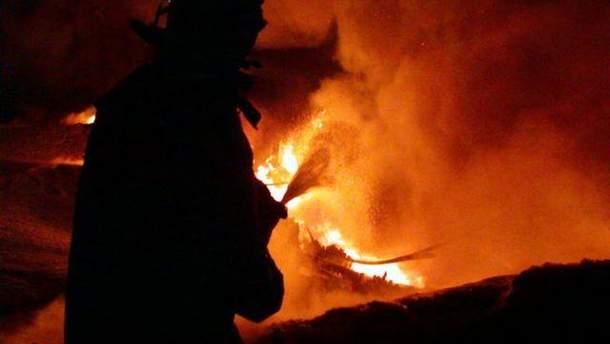 Пожар на шахте