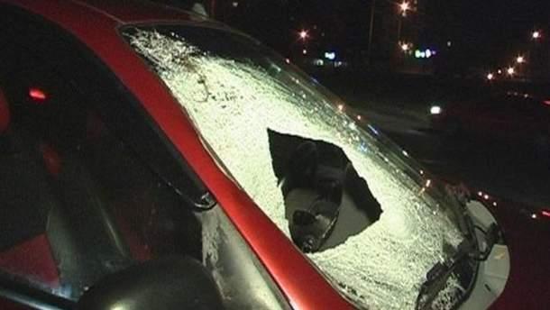 Авто после столкновения