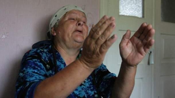 Мать Ирины Крашковой