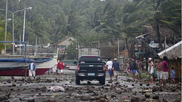 Наслідки тайфуну