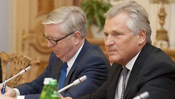 Пет Кокс і Олександр Кваснєвський