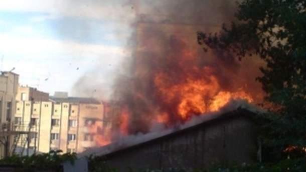 Пожежа на ринку