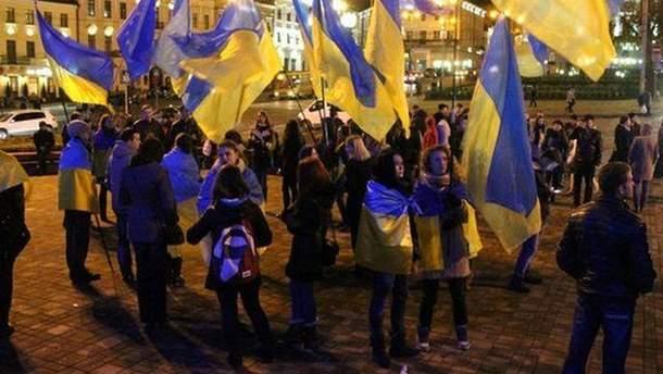 Евромайдан в Черновцах