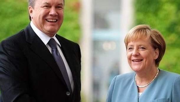 Меркель и Тимошенко