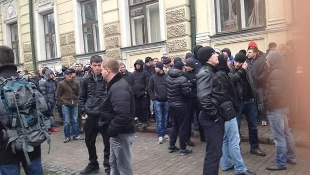 Вероятные провокаторы в Киеве