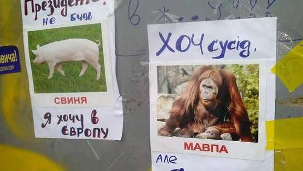 Паркан на Євромайдані