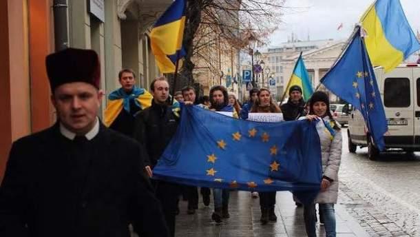 Пикет в Вильнюсе