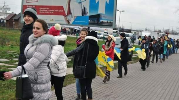 Украинско-польская граница