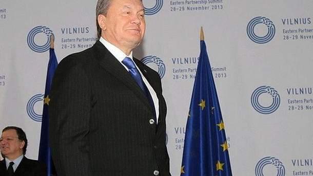 Віктор Янукович на Саміті у Вільнюсі