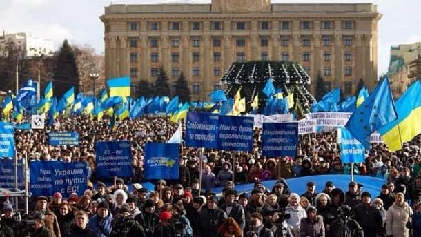 Митинг в поддержку Президента