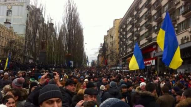 Хода опозиції у Києві