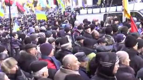Пикет на Грушевского