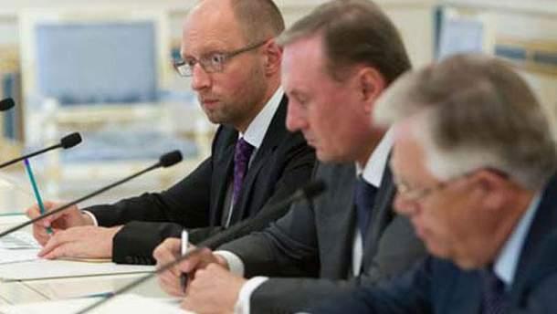 Яценюк, Ефремов и Симоненко