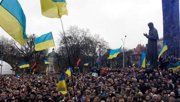 Евромайдан во Львове