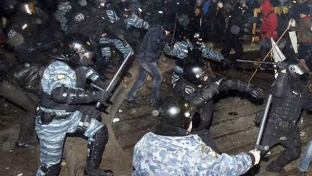 Столкновения на Евромайдане