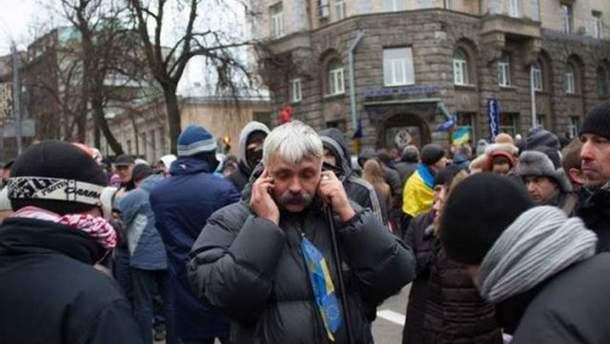 Серед підозрюваних у провокаціях на Банковій немає Корчинського