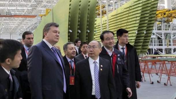 Віктор Янукович в Китаї