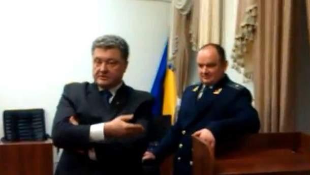 Петро Порошенко в суде