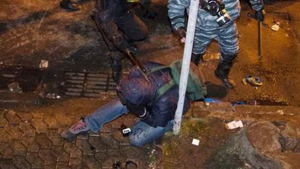 Избиение журналиста