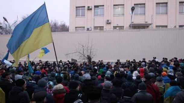 Мітинг під Шевченківським судом