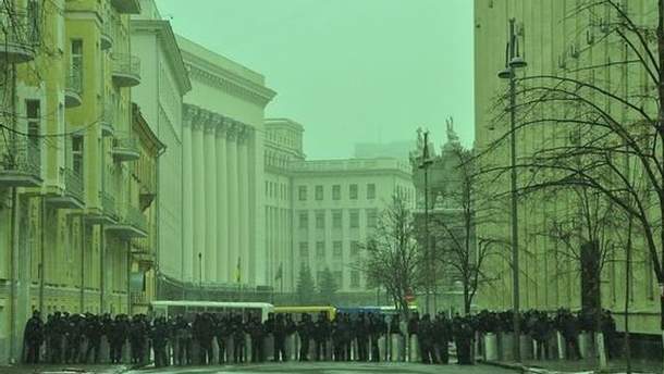 Администрация Президента на улице Банковой