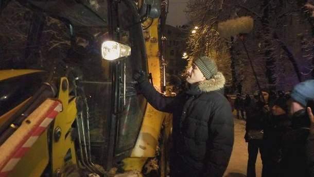 Владимир Кличко и трактор