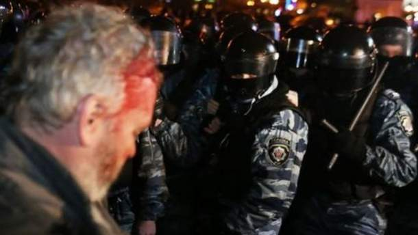Пострадавший на Майдане