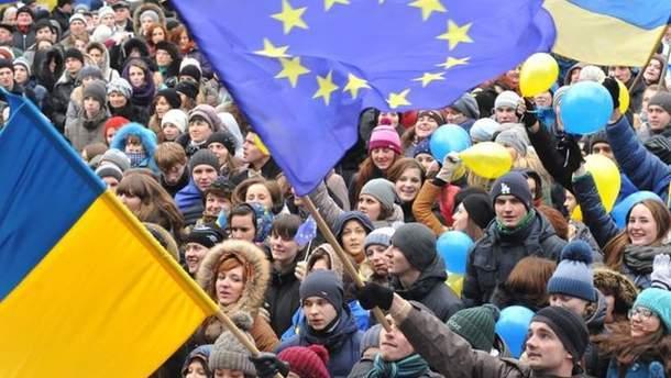 Участники Евромайдана