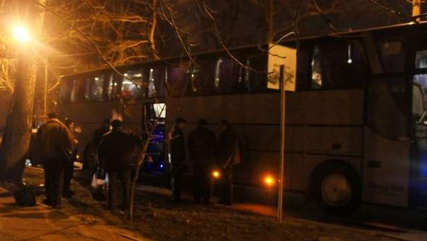 Автобус у Миколаєві