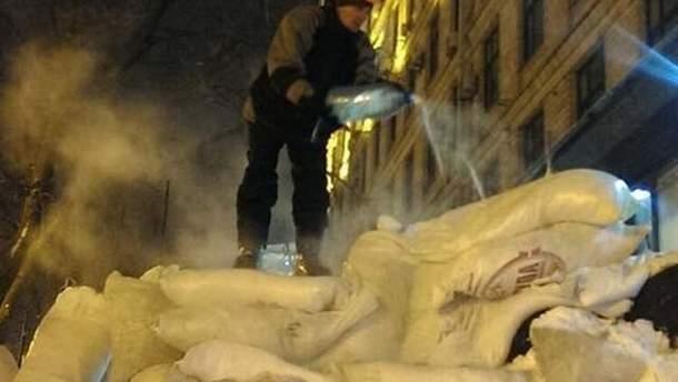 Зима на Євромайдані