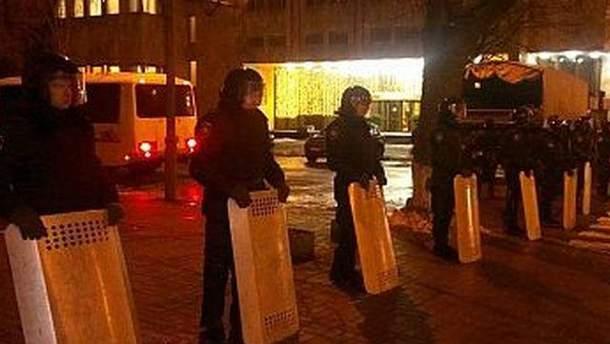 Правоохранители в центре Киева