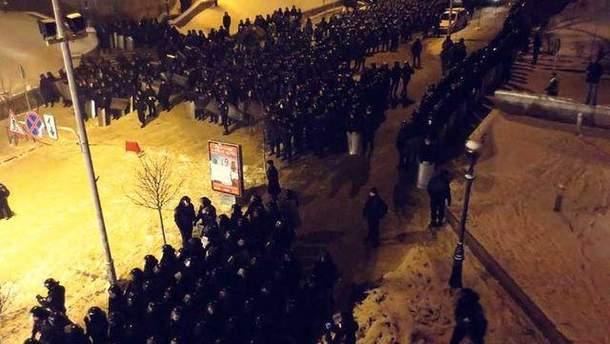 Перед штурмом Євромайдану