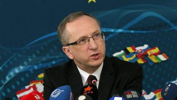 Посол Евросоюза в Украине Ян Томбинский