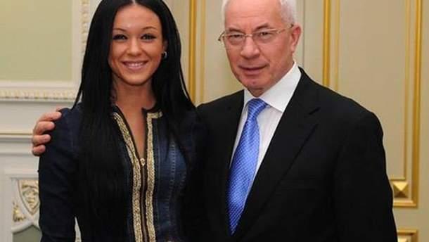 Мария Яремчук с Николаем Азаровым