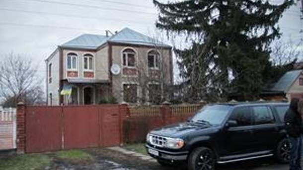 Дом Черновол в селе Гора