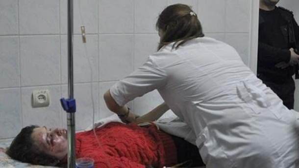 Татьяна Чорновол после нападения