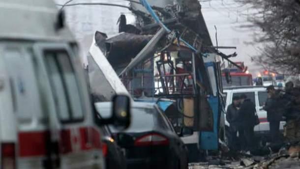 Вибух в тролейбусі у Волгограді
