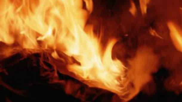 На Харьковщине сожгли очередное авто Евромайдана