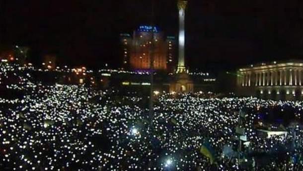 Новорічна ніч на Майдані